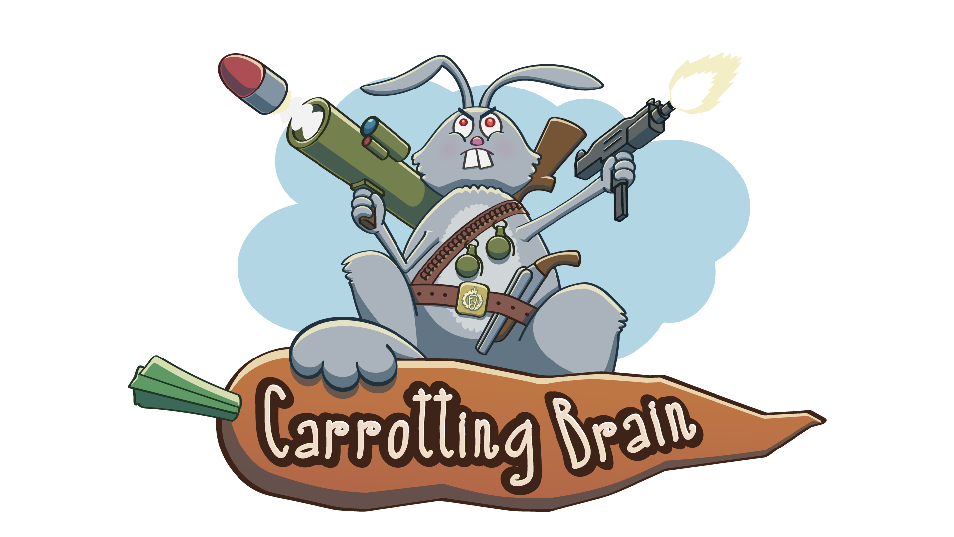 Carrotting Brain Game Logo