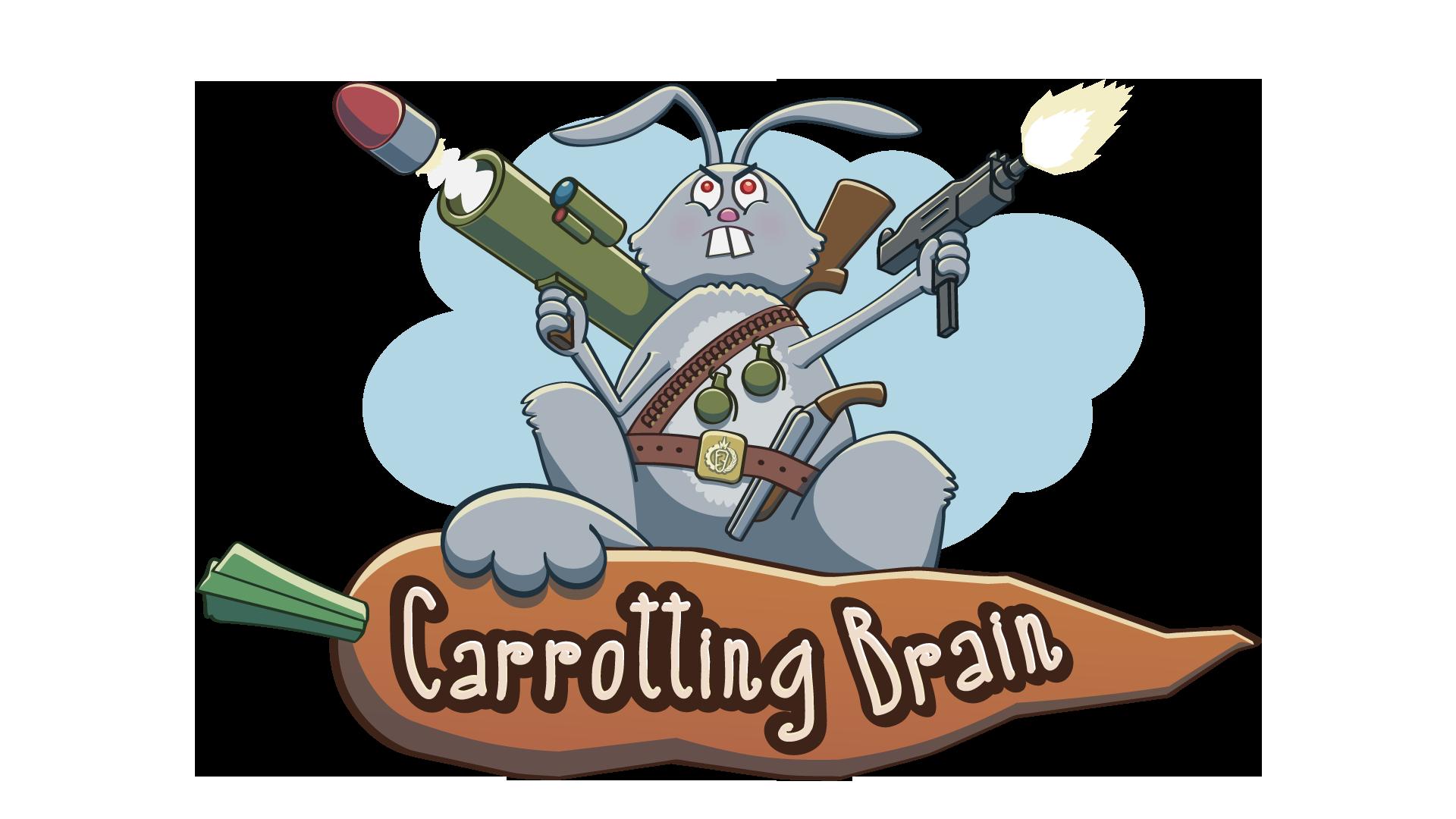 Carrotting Brain Game Logo
