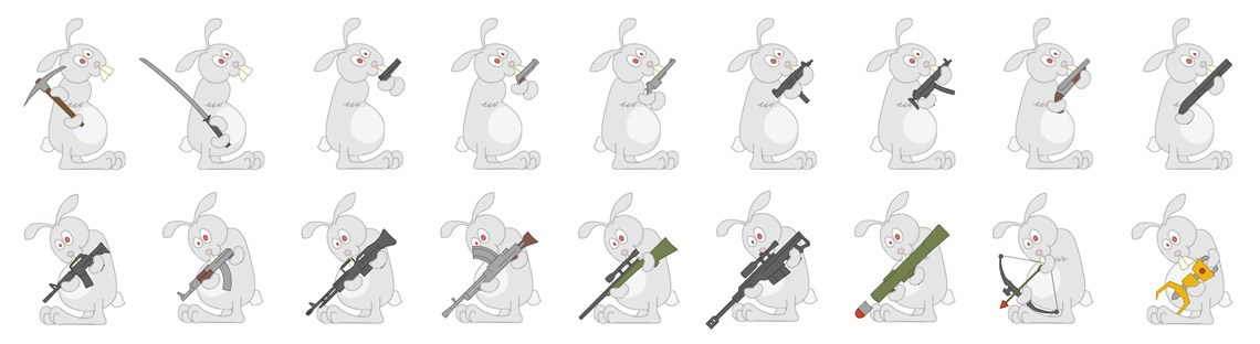 Bunny Weapons