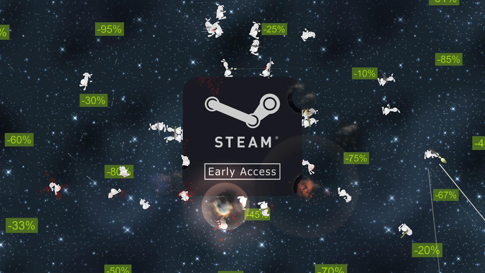 Bunnies on Steam Planet