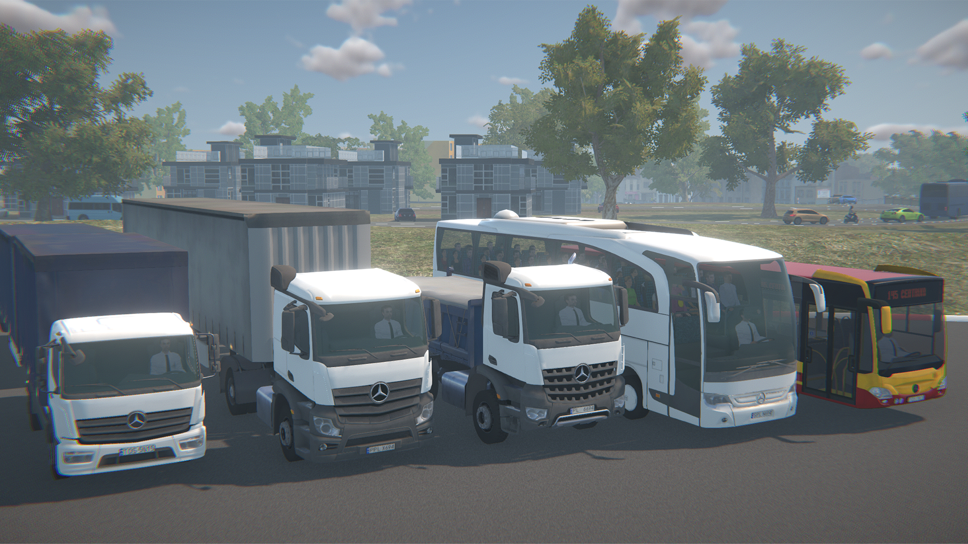 TS-10: Professional Truck Driving Simulator – Raving Bots