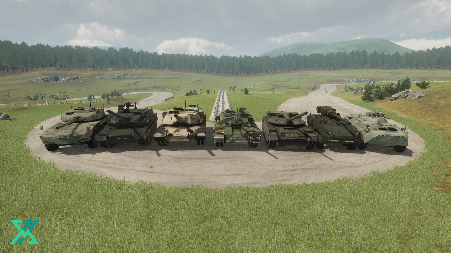 eXpanSIM new armored vehicles