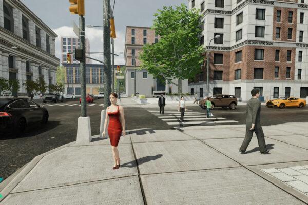 expansim pedestrians